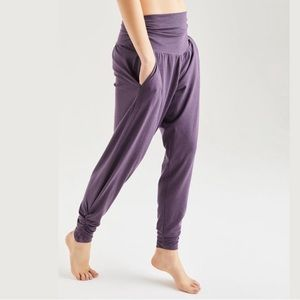 Pants - Bamboo harem yoga pants with pockets